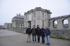 L'équipe La Boutique du Tracteur au Château de Vincennes