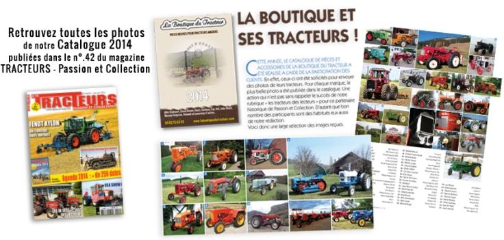 Parution La Boutique du Tracteur dans le magazine Tracteurs - Passion et Collection !