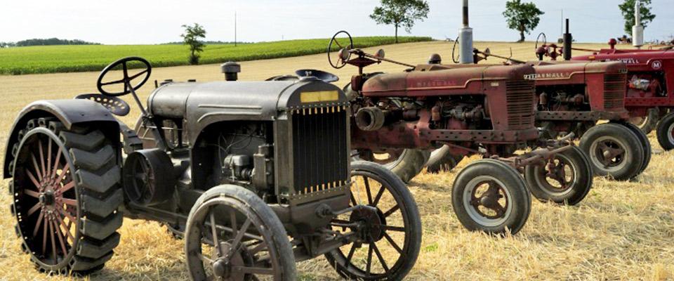 Exposition de vieux tracteurs et activit s agricoles - Cars et les tracteurs ...