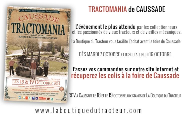 La Boutique du Tracteur à Caussade 2014