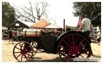 Les vieilles machines agricoles étaient au coeur de l'exposition !