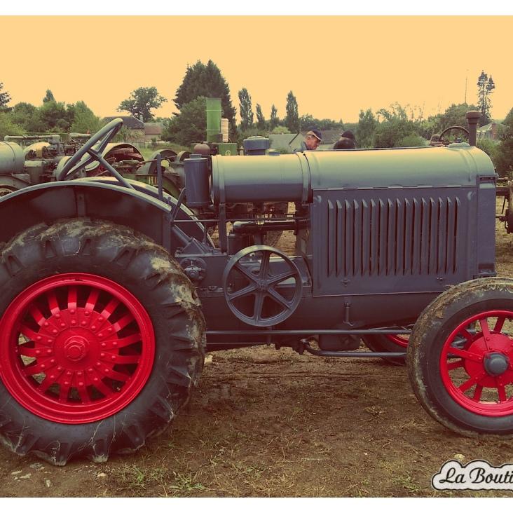 Un tracteur restauré dans les règles de l'art !