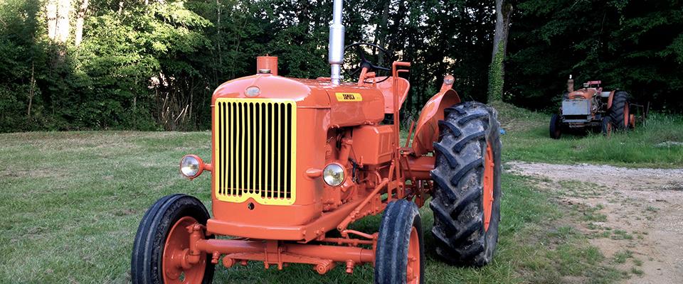 Un magnifique someca da50l refait a neuf le blog du - Histoire du tracteur ...