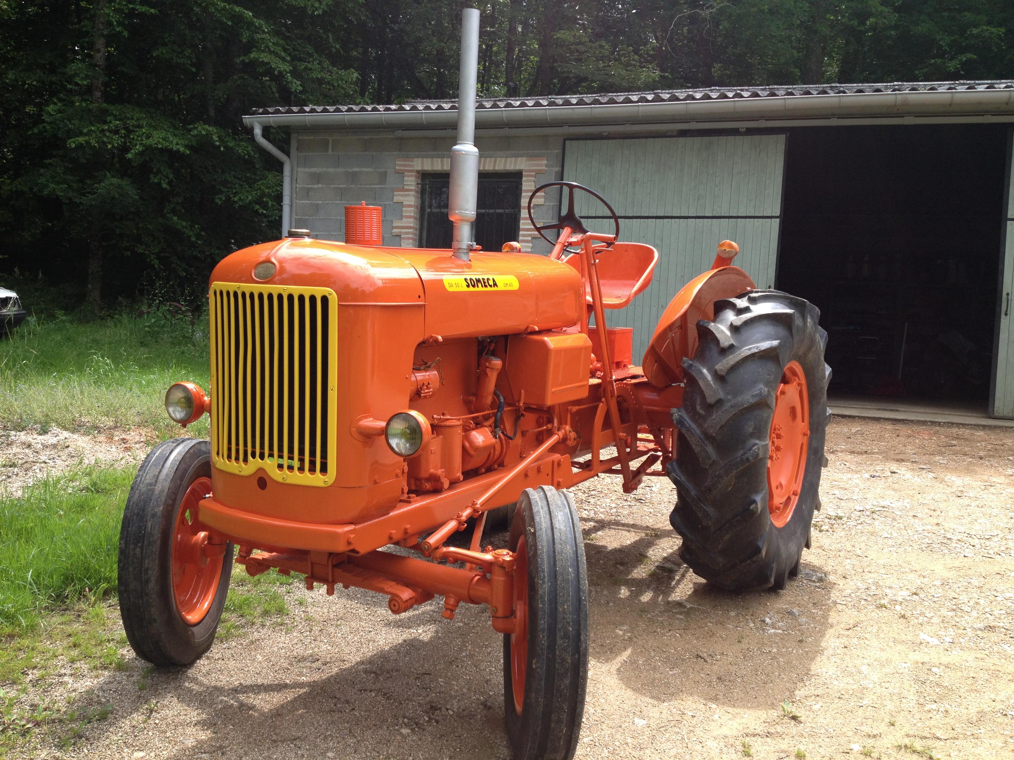 Tracteur ancien someca da50l 2 le blog du tracteur - Siege de tracteur ancien ...