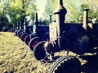 Une cinquantaine de tracteurs en exposition sous un soleil radieux !