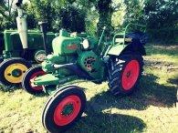 Un tracteur Allgaier avait également été gentiment prêté aux élèves du lycée agricole de Ondes pour leur exposition !