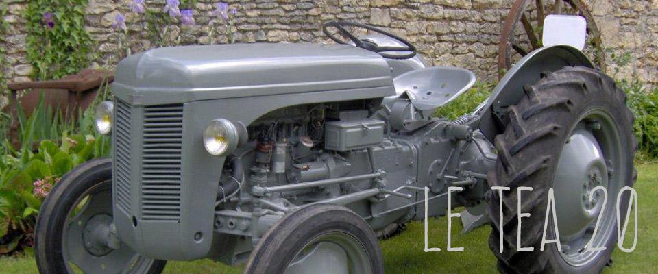Retour en 1947 sur les traces du tea20 tracteur d apr s - Histoire du tracteur ...