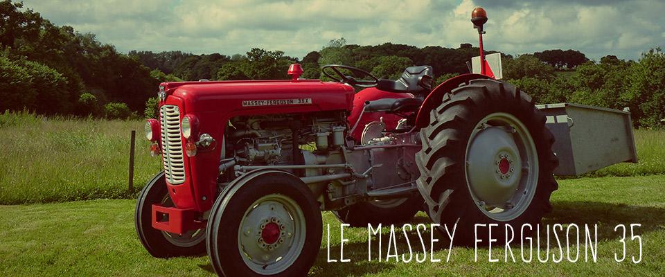 Le mf 35 le petit prot g de massey ferguson le blog - Histoire du tracteur ...