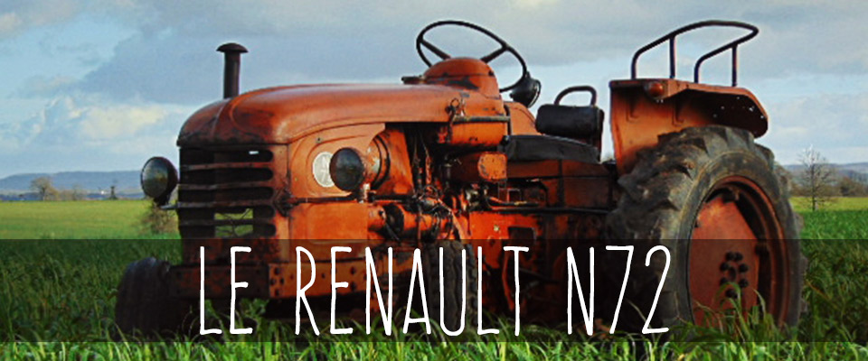 le renault n72 au coeur de la m canisation de l agriculture fran aise le blog du tracteur. Black Bedroom Furniture Sets. Home Design Ideas
