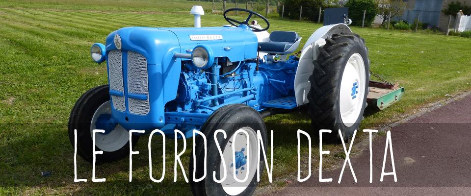 le fordson dexta le petit tracteur bleu made in england le blog du tracteur. Black Bedroom Furniture Sets. Home Design Ideas