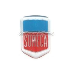 Emblème frontal bleu FIAT SOMECA