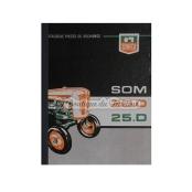 Catalogue de pièces SOM 20D-25D