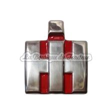 Emblème frontal IHC B450 chromé et plat