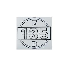 Autocollant Farmall pour F135D
