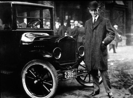 Henry Ford et sa Ford T